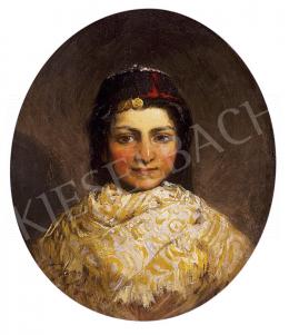 Greguss, Imre - Portrait of a girl
