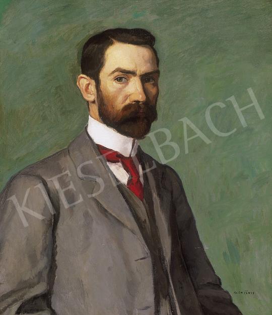 Kléh János - Önarckép | 12. Aukció aukció / 188 tétel