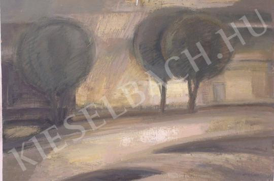 For sale  Nagy, Ernő - Street in Sunshine 's painting