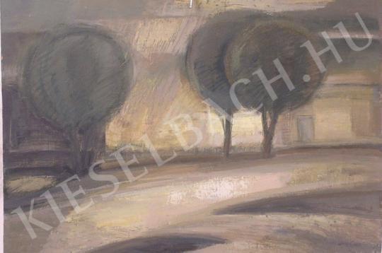 Eladó Nagy Ernő - Utca napfényben festménye