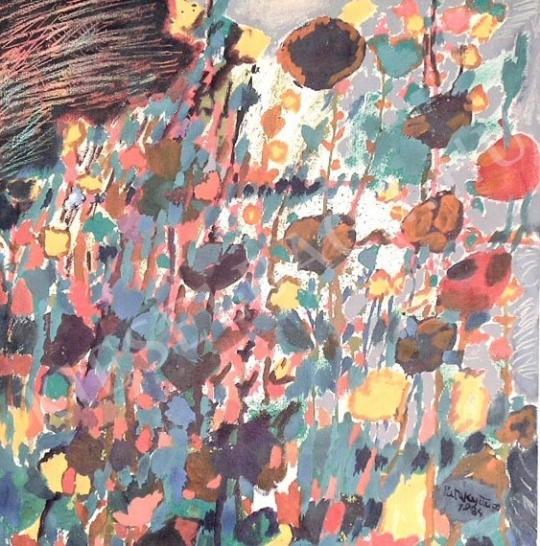 Eladó Pataky János - Virágkerítés festménye