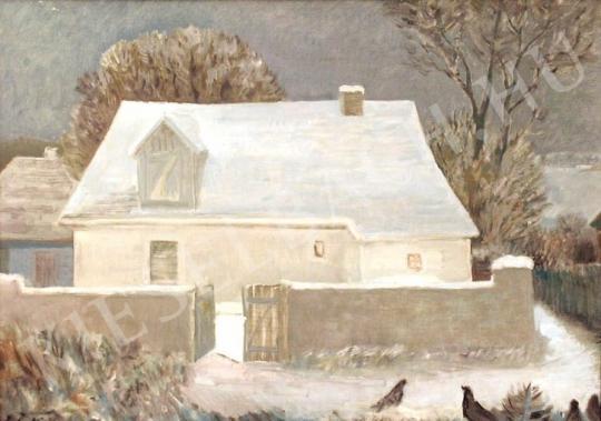 Eladó  Pataki József - Tél festménye