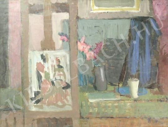 Eladó Piri Kálmán - Interieur festménye