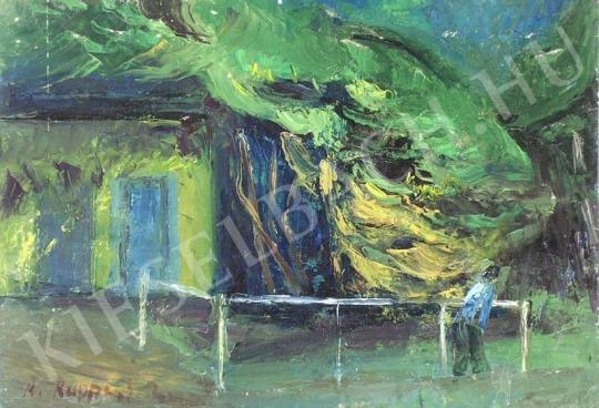 Eladó  Ruppert Zsuzsa - Kert festménye