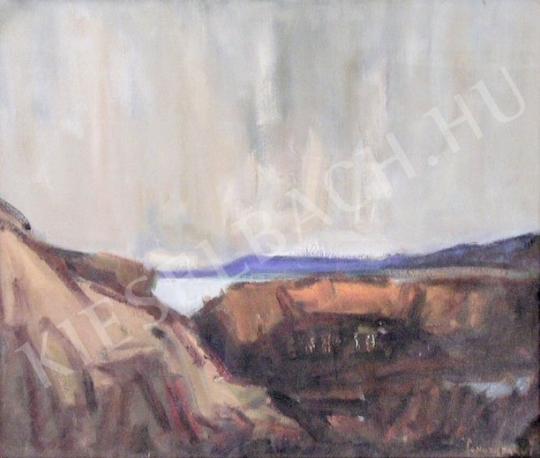 Eladó  Sándorfalvi Sándor - Csurgói tó festménye