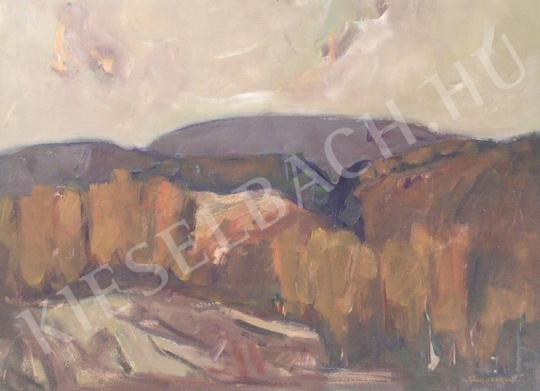 Eladó  Sándorfalvi Sándor - Ősz a Vértesben festménye