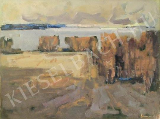 Eladó  Sándorfalvi Sándor - Őszi táj festménye