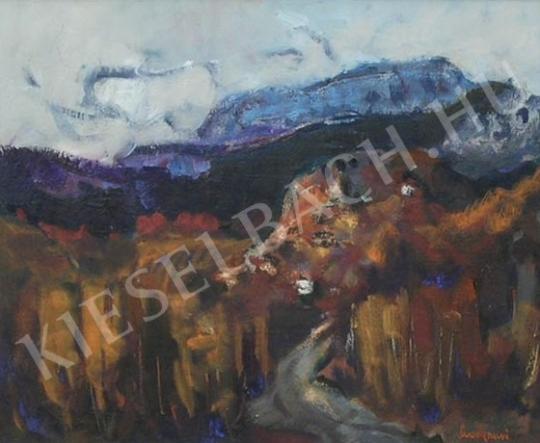 Eladó  Sándorfalvi Sándor - Veszprémi táj festménye