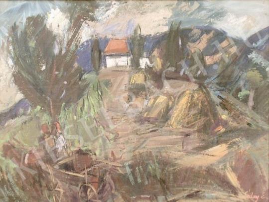Eladó  Séday Éva - Kazlak festménye