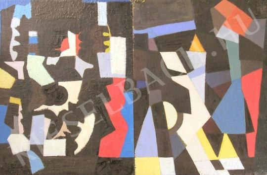 For sale  Szabó, István - Composition No. I. 's painting