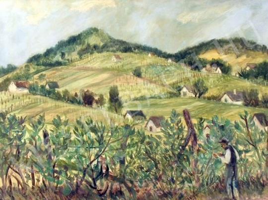Eladó Szamosvári József - Pincék festménye