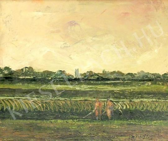 Eladó  Szanthoffer Imre - Határ festménye