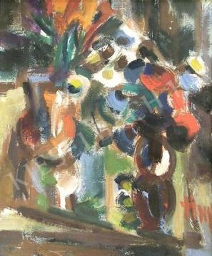 Eladó  Tóth Imre - Csendélet festménye