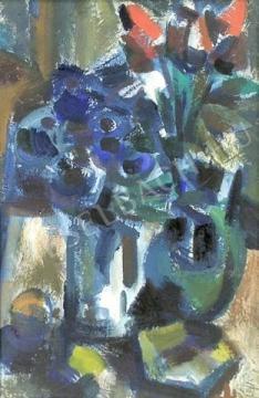 Eladó  Tóth Imre - Virágok festménye