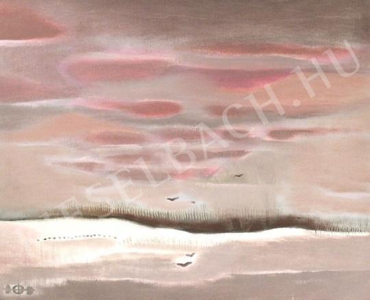 Eladó Tóth László - Téli égbolt festménye