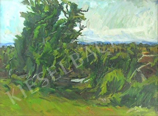 For sale Tóth, László, V. - Group of Trees 's painting
