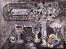 Tóth-Vissó, Árpád - Still-Life at Twilight