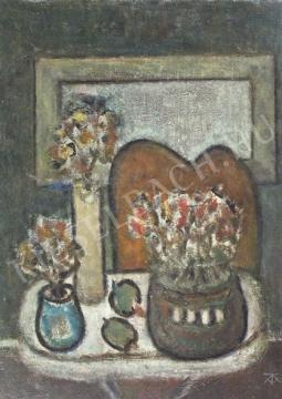 For sale Tóth-Vissó, Árpád - Still-Life with Bouquets 's painting