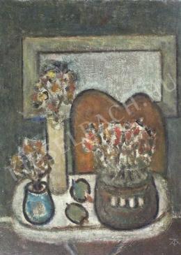Tóth-Vissó, Árpád - Still-Life with Bouquets