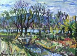 Uhrig Zsigmond - Tavaszi Duna-part (1983)