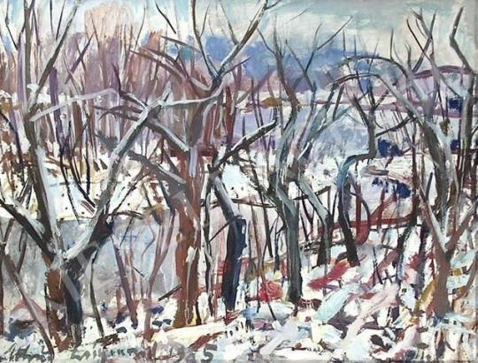 For sale  Uhrig, Zsigmond - Winter Land 's painting