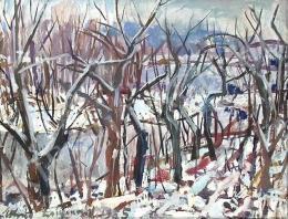 Uhrig Zsigmond - Téli táj