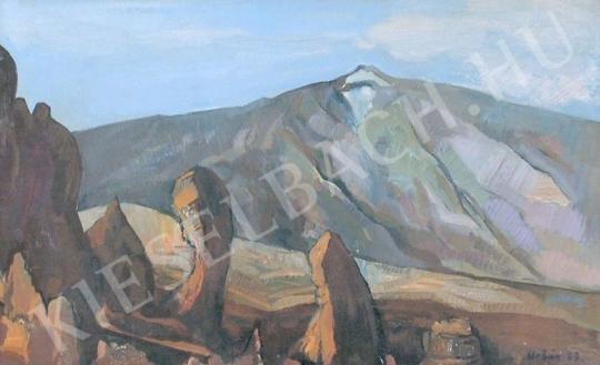 Eladó  Urbán György - Barna sziklák festménye