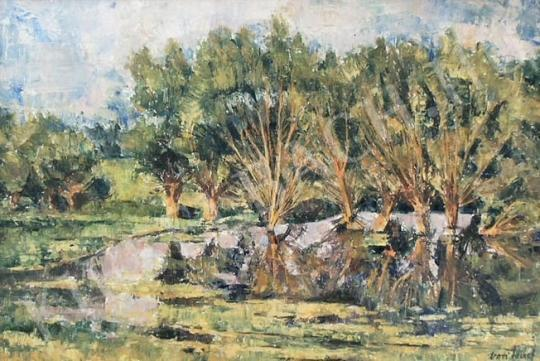 For sale  Vati, József - Floodplain 's painting