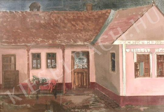 For sale Vecsési, Sándor - L-Shaped House 's painting