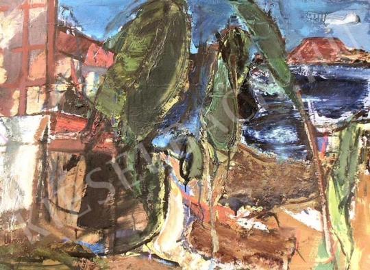 For sale Veress, Sándor László - Landscape from Lake Balaton 's painting