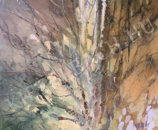 Eladó Wagner János - Fák tavasszal festménye