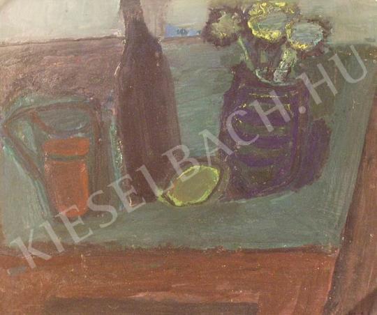 Eladó Bíró Lajos - Csendélet citrommal festménye