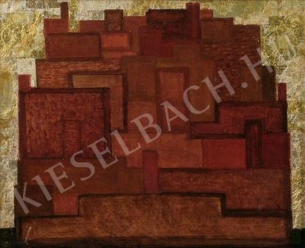 Eladó  Tilless Béla - Város festménye