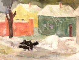 Berta Sándor - Téli táj