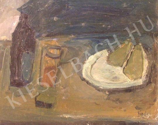 Eladó Bíró Lajos - Körtés csendélet festménye