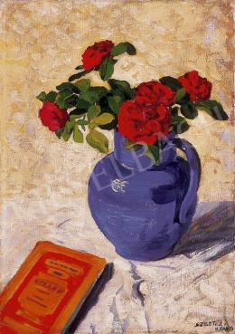 Szigeti, Jenő - Still-life with book
