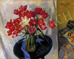 Ziffer Sándor - Tulipános csndélet