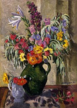 Vörös Géza - Virágcsokor