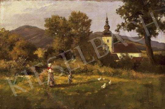 Neogrády László - Faluszélén | 11. Aukció aukció / 30 tétel
