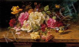 Zatzka, Hans - Friss virágok pillangókkal