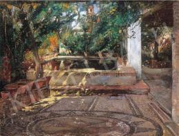 Tornai Gyula - Árnyas terasz