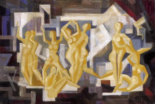 Rafael Győző Viktor - Táncolók | 11. Aukció aukció / 95 tétel