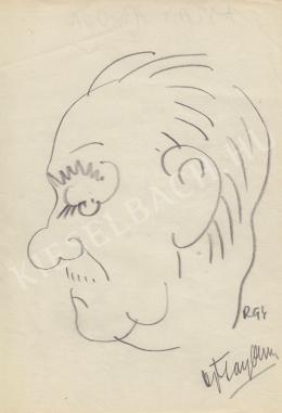 Rózsahegyi, György - Portrait of Andor Ajtay Actor, Director