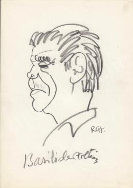 Rózsahegyi György - Basilides Zoltán színész portréja (1960-70-es évek)