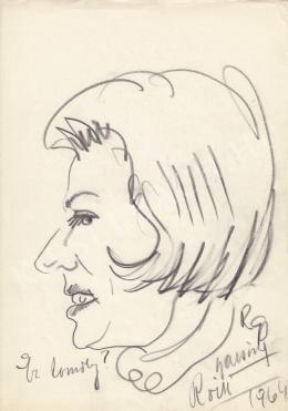 Rózsahegyi György - Bársony Rózsi színésznő portréja