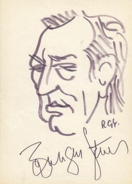 Rózsahegyi, György - Portrait of Ferenc Bessenyei Actor