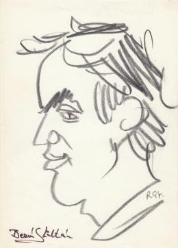 Rózsahegyi, György - Portrait of Zoltán Bezerédy Actor, Director
