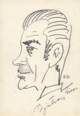 Rózsahegyi György - Bicskey Tibor színész portréja
