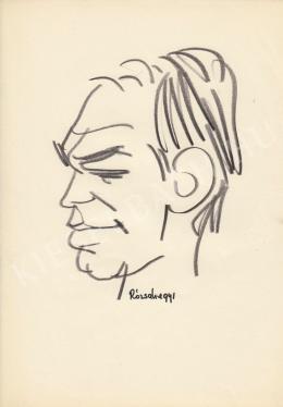 Rózsahegyi, György - Portrait of Gyula Bodrogi Actor, Director