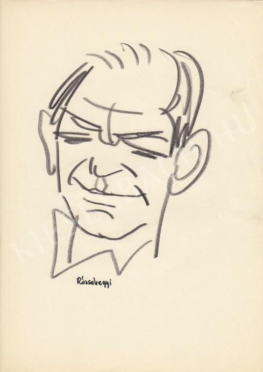 For sale  Rózsahegyi, György - Portrait of Gyula Bodrogi Actor, Director 's painting